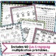 Multiplication Worksheets - 3rd Grade Fact Practice, Word Problems, Games
