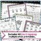 Multiplication 3rd Grade - Activities and Multiplication F