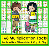 Multiplication Facts Activities: 4 Ways to Play!