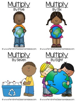 Earth Day Math Thirteen Quick and Easy to Prep Subtraction Center Games