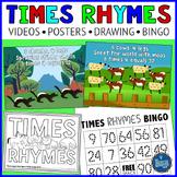 Multiplication Rhymes Practice Activities
