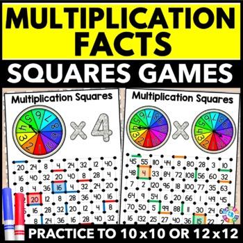 Multiplication Games 17 Multiplication Facts Games Multiplication