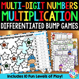 BUMP! Multiplying Multi-Digit Numbers: 10 Multi-Digit Multiplication Games