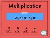Multiplication 2, 3, 4, 5, 6