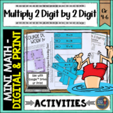 Multiplication 2 Digit By 2 Digit Math Activities Google S