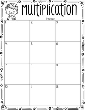 Multiplication Task Cards {2-Digit by 1-Digit}