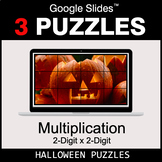 Multiplication 2-Digit by 2-Digit - Google Slides - Hallow