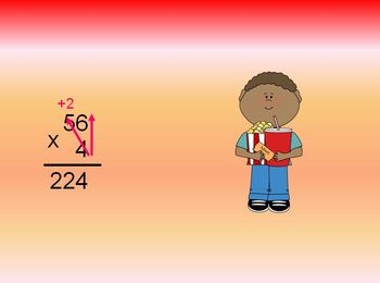 Multiplication : 2-Digits x 1-Digit