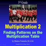 3rd Grade Multiplication 2 - Finding Patterns on Multiplication Chart Lesson