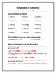 Multiplication 2: Test Your Skills!