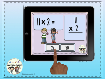 Multiplication, 2 Times Table Fluency, Boom Digital Task Cards and More!