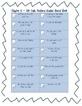 Multiplication 2 X 2 CGI Math Task Problems