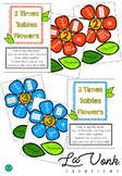 Multiplication 2 and 3 Times Tables Flower Center and Worksheets