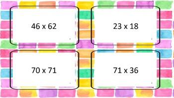 Multiplication 2 digit by 2 digit