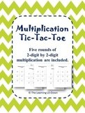 Multiplication: 2-digit by 2-digit Tic Tac Toe