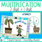 Multiplication Games with double digit numbers