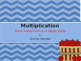 Multiplication 2 digits by 1 digit