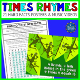 Multiplication Rhymes Facts Practice