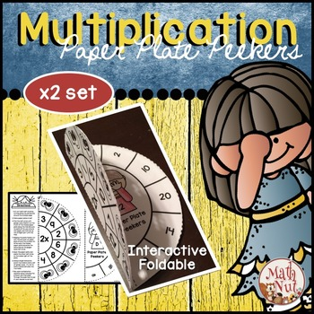 Multiplication Facts Foldable