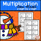 "Winter Math ""Multiplication Area Model"" (2 digit by 2 digit)"