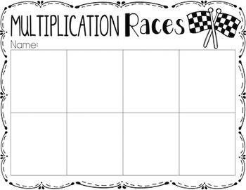 Multiplication {A Math Center Game}