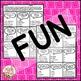 Multiplication Facts Activity: Fortune Facts