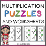 Multiplication Puzzles and Worksheets
