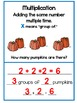 Repeated Addition Multiplication Task Cards