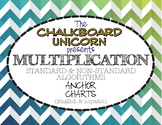 Multiplication Posters (Standard & Non-Standard Algorithms)  (English & Español)