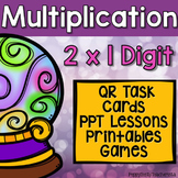 Multiplication 2x1 Digit Partial Products Unit