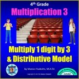 4th Grade Multiplication 3 - 1 Digit x 3 Digits w Regroupi