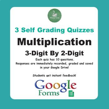 Multiplication Quiz - 3-Digit By 2-Digit (Google Forms)