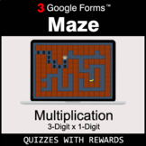 Multiplication 3-Digit by 1-Digit   Maze   Google Forms  