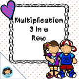 Multiplication 3 In A Row