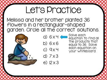 Multiplication-3.OA.1.1- FSA Style PowerPoint