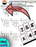 Multiplication 3 digit by 2 digit GAME: Make Multiplication FUN in a GAME (5.3B)
