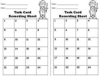 Multiplication 3 digit by 3 digit Task Cards {FREEBIE}