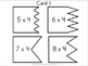 Multiplication 4 Piece Puzzles x4