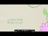 Multiplication: 4 Times Tables Movie