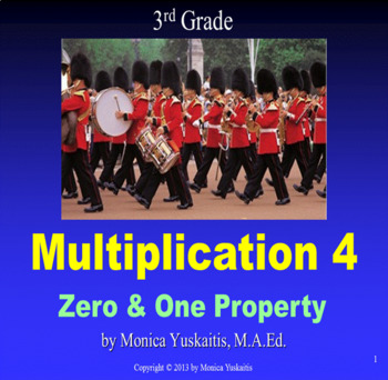 Common Core 3rd - Multiplication 4 - Zero & One Property