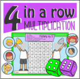 Multiplication 4 in a Row Board Game