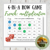 Multiplication 4-in-a-row game: French