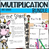 Multiplication - 4 week Unit - Everything But the Dice - 3rd Grade