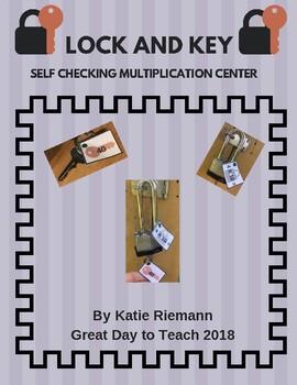 Multiplication Fact Fluency Activity