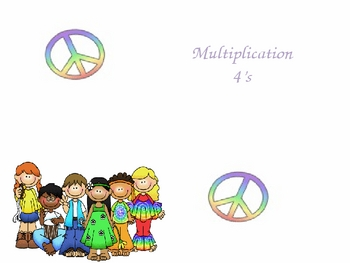 Multiplication 4s PowerPoint