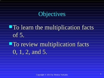 Common Core 3rd - Multiplication 5 - Multiplying by 5 & Review