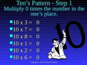 Common Core 3rd - Multiplication 6 - Multiplying by 10 & Review