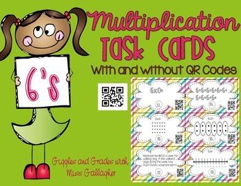 Multiplication 6's