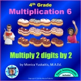 Common Core 4th - Multiplication 7 - 2 Digits x 2 Digits with Regrouping