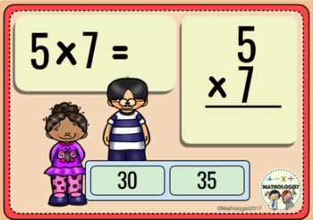 Multiplication,7 Times Table Fluency, Boom Digital Task Cards and More!